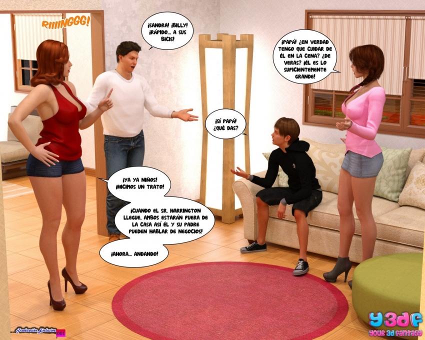 Порно комикс про мерзкий босс