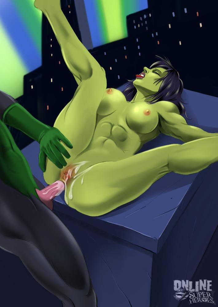She hulk green lantern green meeting porn comics