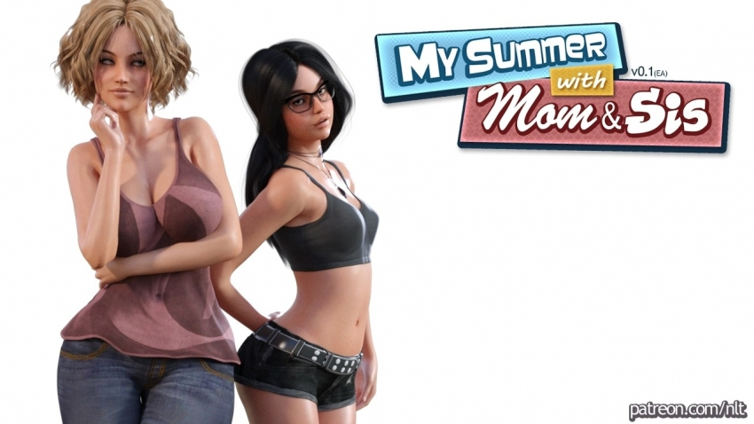 My Summer with Mom & Sis Ver 0.1-PC Game- NLT