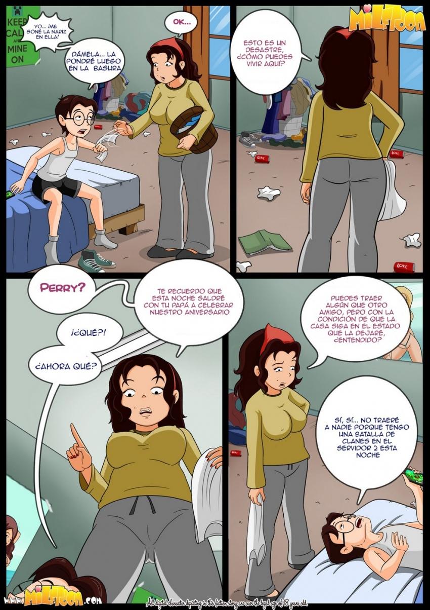 Milf toon comic