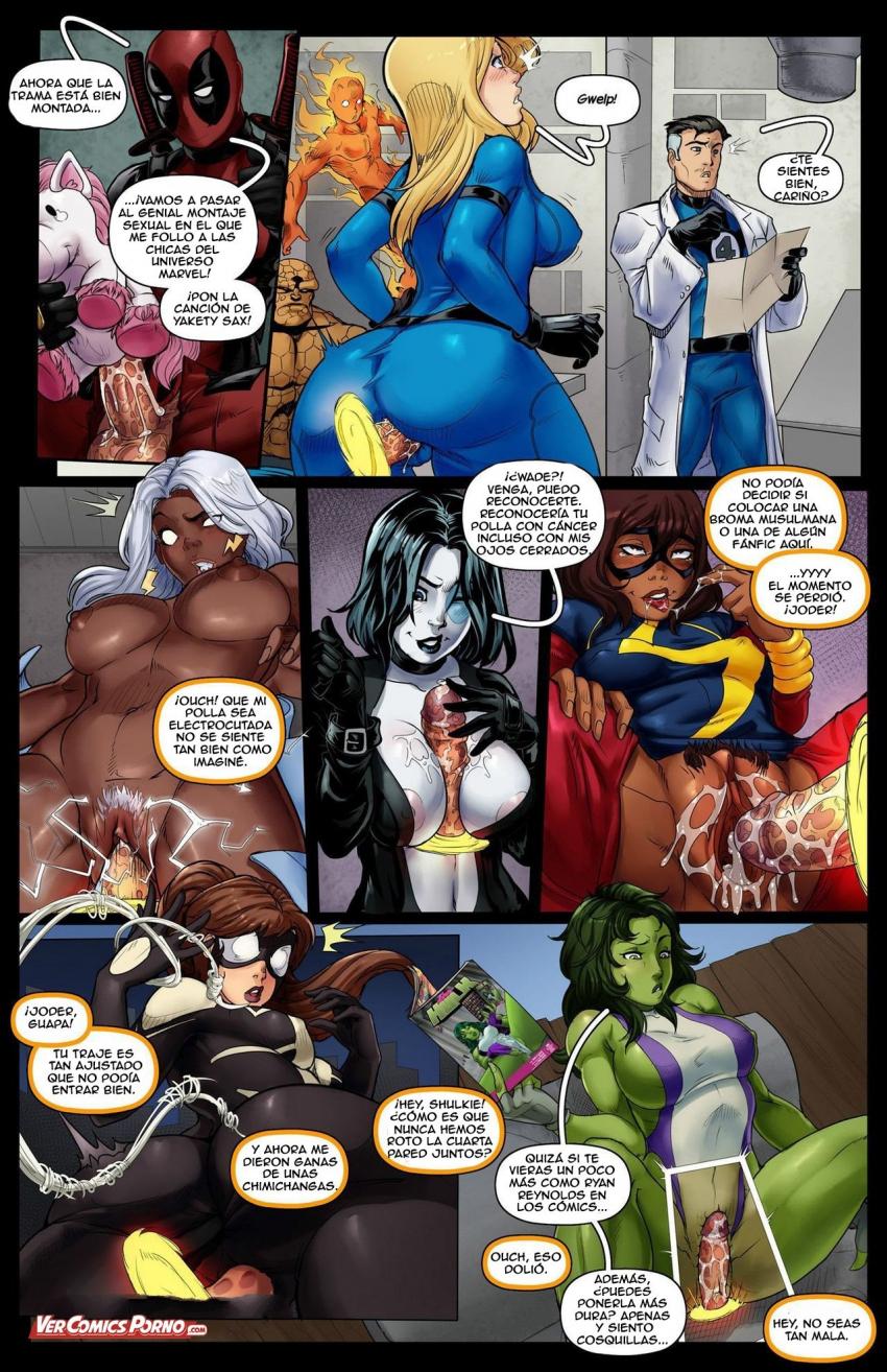 deadpool porno comic