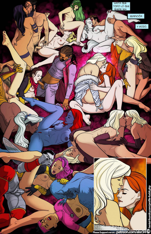 sexo orgias super heroes