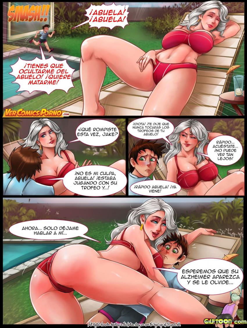 Abuela Y Nirta Lesbianas Porno a gilf tale – gilftoon por milftoon (español) ~ ver porno comics